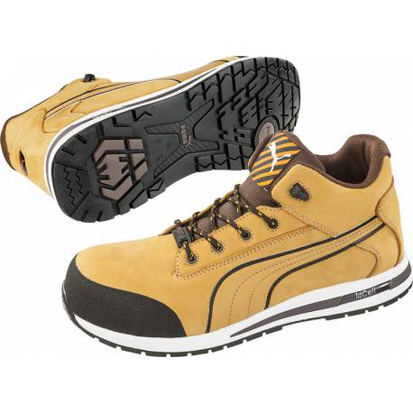 Baskets en cuir Puma Safety S3 HRO SRC