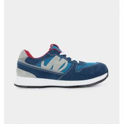Baskets de Sécurité RUN SOFT S1P Bleu - Vue talon - Nordways