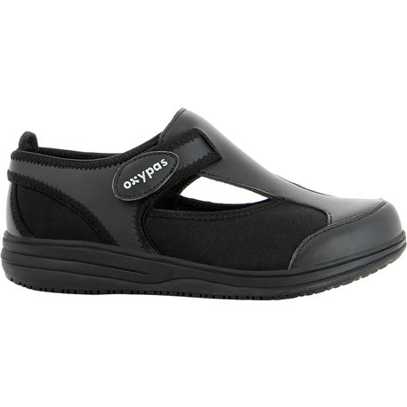 Sandales médicales femme Candy noir - OXYPAS