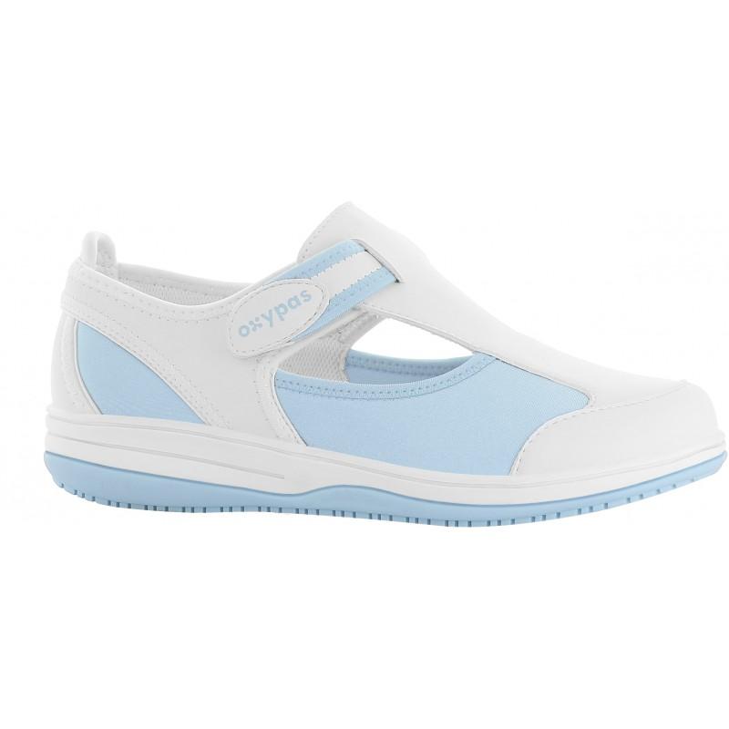 Sandales médicales femme Candy bleu - OXYPAS