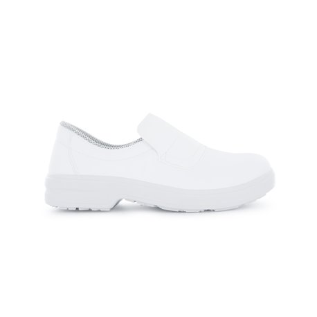 Mocassins decuisine blanc S2 TONY - Nordways