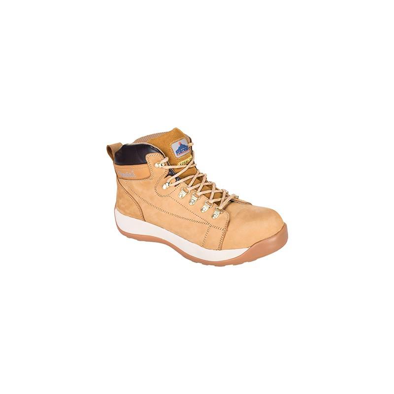 Chaussures coqué montante Mi-Brodequin miel Portwest