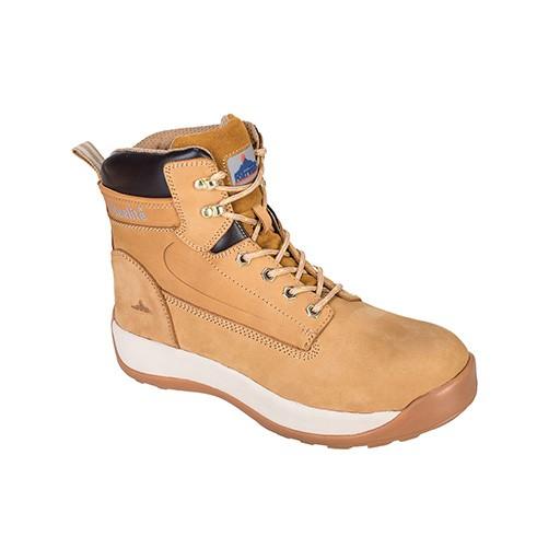 Chaussures S3 étanche Brodequin constructo miel Portwest