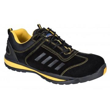 Basket de sécurité S1P Lusum safety Trainer Portwest noir/jaune