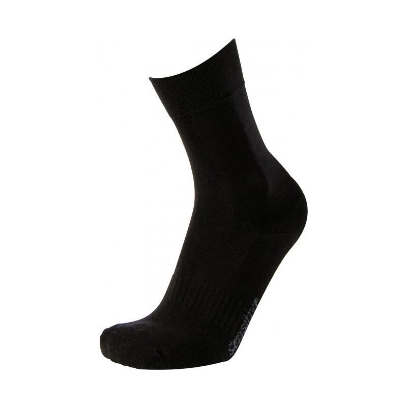 Chaussettes de travail noir en coton biologique sensitives