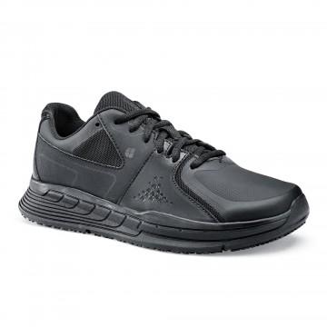 Baskets de travail femme OB SRC cuir noir Condor - Shoes For Crews