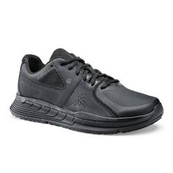 Baskets de travail homme OB SRC cuir noir Condor - Shoes For Crews