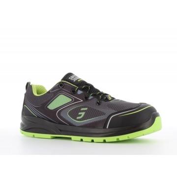 Chaussure de sécurité Cador vert - Safety Jogger