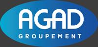 logo de face du groupement agad français d'epi vêtement de travail et chaussures professionnels