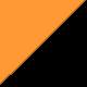 Noir/Orange